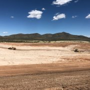 Evaporation Pond - 210,000 Cubic Yards Excavated
