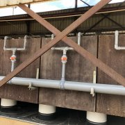 EW Cell Feed Piping Progress July 25 2019